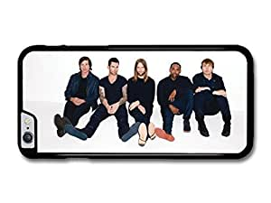 Maroon 5 Band Photoshoot with White Background case for iPhone 6 Plus by Maris's Diary