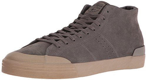 C1RCA Men's Fremont Mid Skateboarding Shoe, Charcoal/Gum, 9 M US