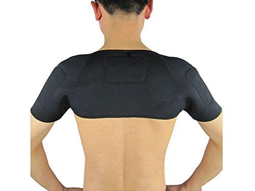 Magnetfeldtherapie Thermal Schulterbandage mit Wärmekissen Kompression