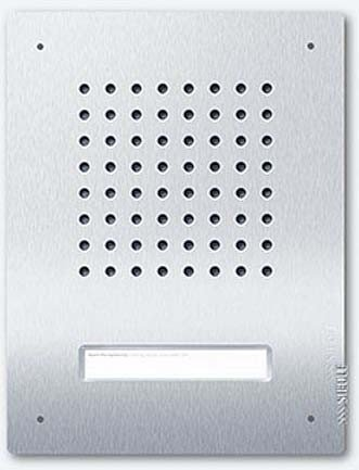 Siedle door intercom Audio Flush-Mounted 1T, Bus, CL A 01B, Stainless Steel, 4067558 by Siedle + Shne