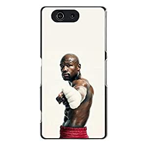 Handsome Floyd Mayweather Boxing Phone Case Cover for Sony Xperia Z3 Compact (Z3 mini) Floyd Mayweather Cool Design