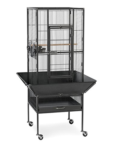 Prevue Pet Products 3351BLK Park Plaza Bird Cage, Black - Plaza At Stores The