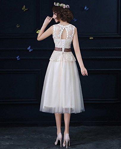 2 Linie Damen Drasawee Kleid A Champange qwSqvUR
