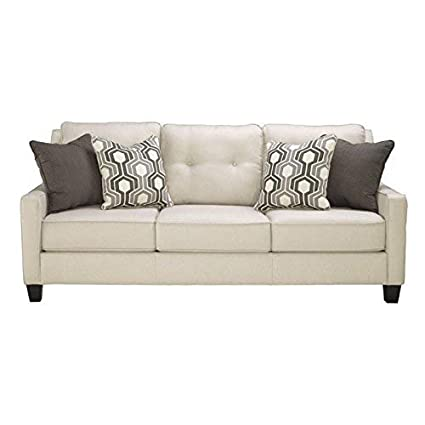 Amazon Com Benchcraft Guillerno Contemporary Upholstered Sofa