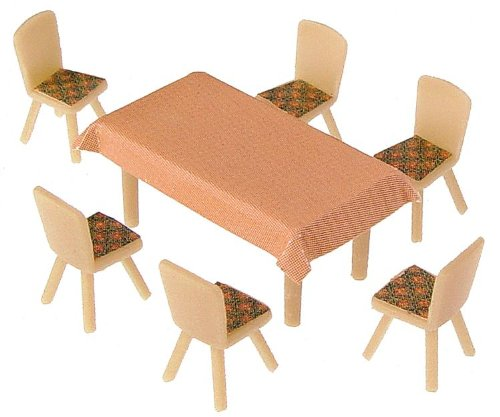 Faller 180442 4 Tables & 24 Chairs Scenery and Accessories