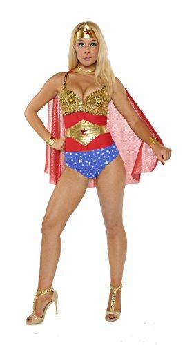 Wonder Woman Seductress Costumes - Nom de Plume, Inc Sexy Seductress