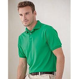 Hanes 054X – Blended Jersey Sport Shirt