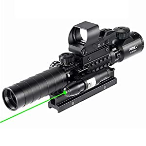 Pinty Rifle Scope Illuminated Reflex