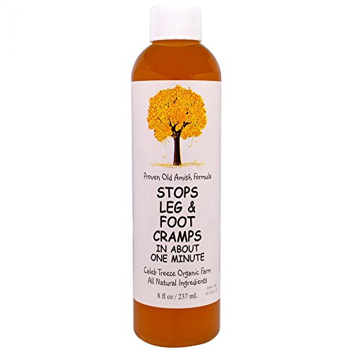 Caleb Treeze Organic Farms Stops Leg & Foot Cramps