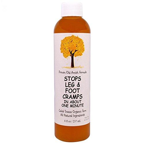 Caleb Treeze Organic Farms Stops Leg & Foot Cramps, 8 oz