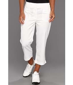 Tail Ladies Tech Capri Pants White Size 4 (Small)