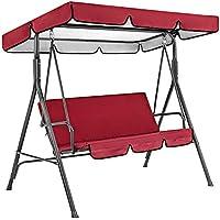 Growment Cubierta de tela impermeable para jardín, terraza, columpio, asiento de silla, cubierta superior para camping…