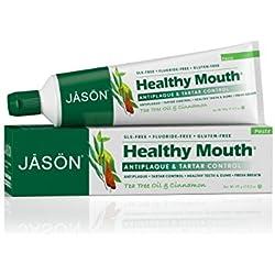 Jason Healthy Mouth Toothpaste, Tea Tree Oil & Cinnamon, 4.2 Ounces