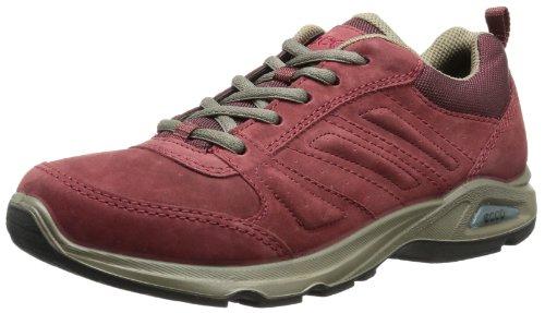 Ecco ECCO LIGHT III 810563 - Zapatillas de deporte para andar de cuero nobuck para mujer Rojo (PORT2028)