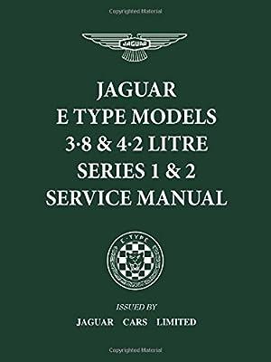 Jaguar E-Type 3.8 /& 4.2 Series 1 /& 2 Service Manual book paper car