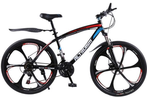 Hot Sales Altruism Mountain Bike Aluminum Alloy 24 Speed 26 Inch Folding Bicycle Black