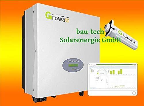 Growatt 1000S Netz Wechselrichter inklusive WiFi Modul, Plug & Play von bau-tech Solarenergie GmbH
