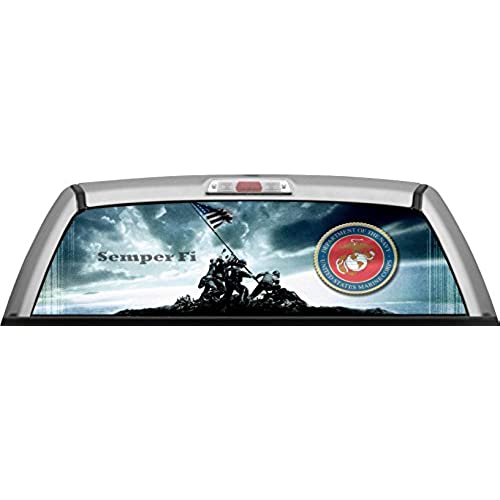Rear Window Perforated Car Decals Amazoncom - Car window decals near meperforated car window decals signscom