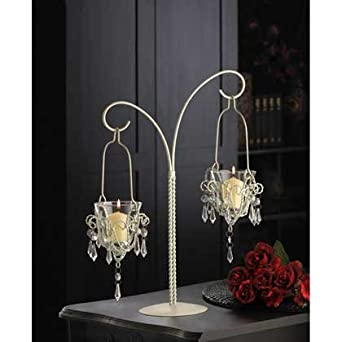 25 wedding mini chandelier centerpieces favors 17 tall 25 wedding mini chandelier centerpieces favors 17 tall candelabras amazon aloadofball Choice Image