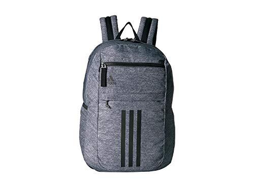 adidas League 3 Stripe Backpack, Jersey Onix/Black, One Size ()