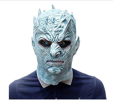 wanjuna Máscara De Halloween Tronos Rey De La Noche Cara Blanca ...