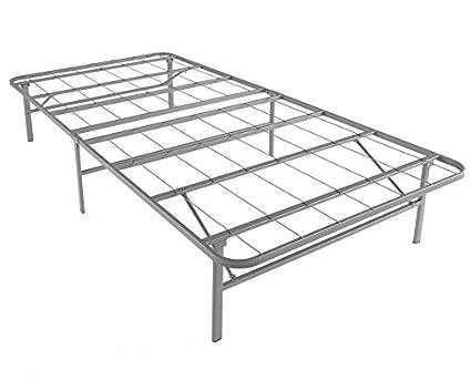Amazon Com Mantua Premium Platform Bed Base In Silver Fits Twin Xl