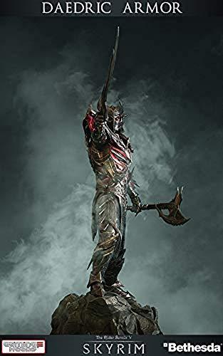 - Entertainment Earth Elder Scrolls V Skyrim Daedric Armor 16 1/2