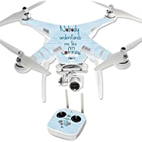 Skin For DJI Phantom 3 Professional – Coffee Understands Me | MightySkins Protective, Durable, and Unique Vinyl Decal wrap cover | Easy To Apply, Remove, and Change Styles | Made in the USA