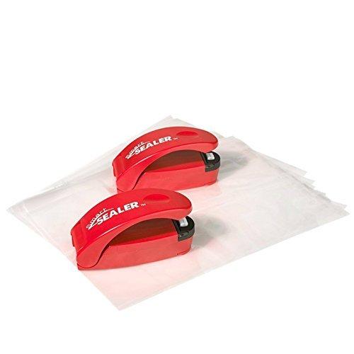 SmartSealer Storage Bag Sealer - Red