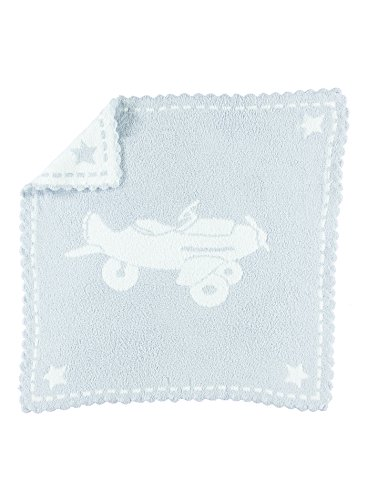 Barefoot Dreams CozyChic Scalloped Receiving Blanket by Barefoot Dreams