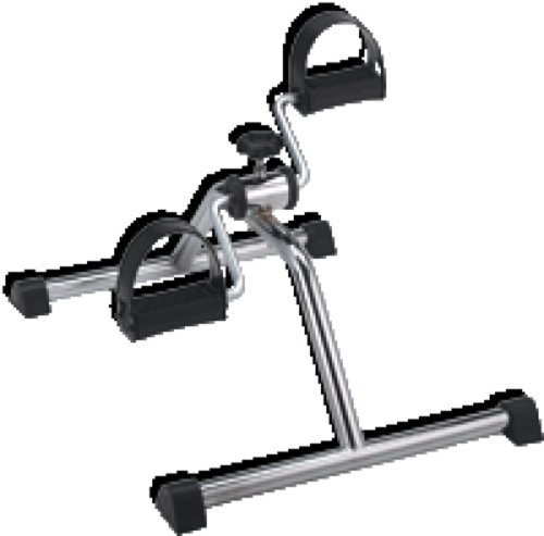 Mabis DMI Healthcare Pedal Exerciser, Made of Heavy-duty Steel, with Large Knob to Vary Resistance (1 Each)