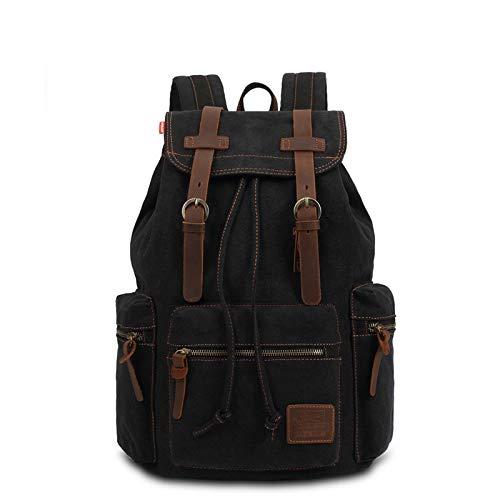 Amazon.com: Vintage Backpack Fashion Canvas Leisure Travel School Bags UniLaptop Backpacks Men Mochilas: Kitchen & Dining