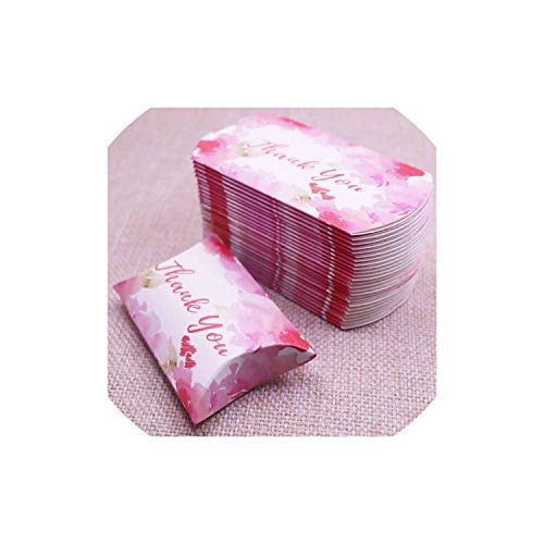 50pcs 2019New Marble Style Box Anniversary Gift Box Wedding Present Flamingo Design Box Paper Pillow Cardboard Jewelry Packing,Same as photo9,80x55x20mm