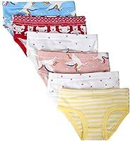 Closecret Kids Series Baby Cotton Panties Little Girls' Assorted Briefs(Pack o