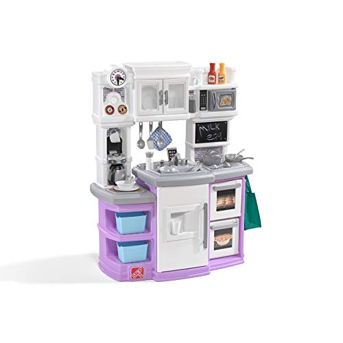 Step2 Great Gourmet Kitchen Pretend Playset, Lavender