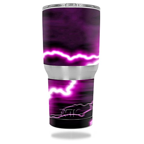MightySkins Protective Tumbler sticker Lightning product image