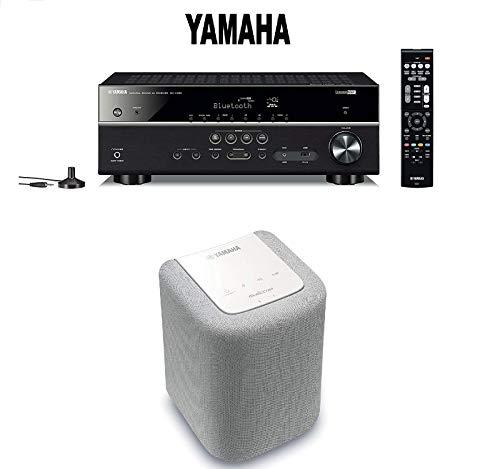 Yamaha Bluetooth Audio & Video Component Receiver Black  Mus