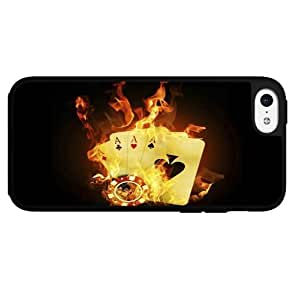 I'm on Fire Poker Hard Snap on Phone Case (iPhone 6 plus (5.5)) Designed by HnW Accessories