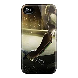 Evanhappy42 Iphone 4/4s Hybrid Cases Covers Bumper Link Shield The Legend Of Zelda Oracle Swords