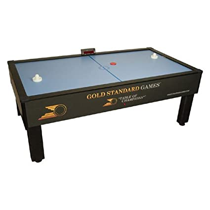 Superb Gold Standard Games Home Pro Elite Air Hockey Table