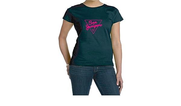 2f40885f6 Amazon.com: San Junipero Black Mirror Inspired Fan Woman's Tee Shirt:  Clothing