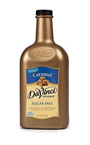 Da Vinci Cake - DaVinci Gourmet Sugar Free Caramel  Sauce, 64-Ounce Jugs (Pack of 6)