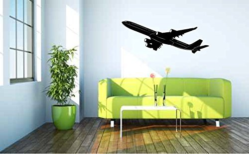 airbus-a-340-airplane-silhouette-vinyl-wall-decal-sticker-graphic