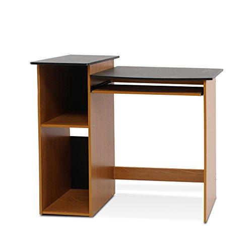 Price comparison product image Furinno 99914R1LC / BK Econ Multipurpose Computer Writing Desk,  Light Cherry / Black