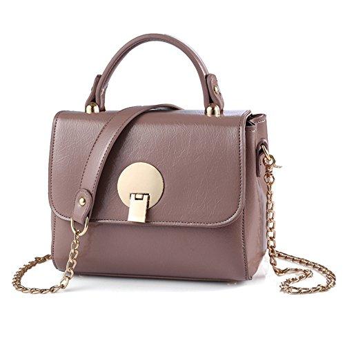 GWQGZ Bolso De Las Señoras Bolso De Hombro De Moda Rosa Violet