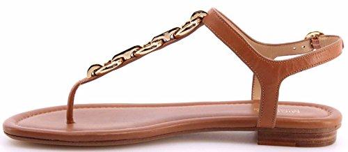 Zapatos Mujeres Chancletas Sandalias MICHAEL KORS Mahari Thong Leather Acorn New