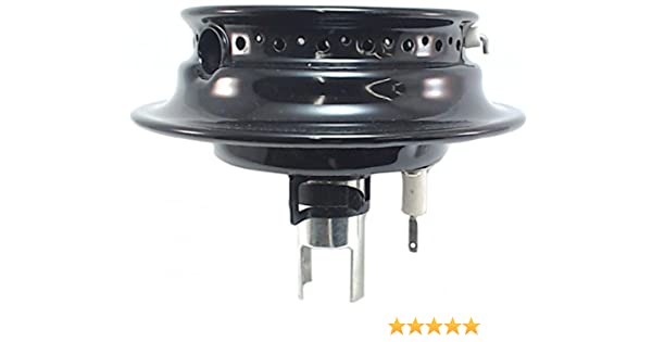 for Maytag 3412D024-09 AP4415505 Black 4 Pack PS2356990 Burner Assembly