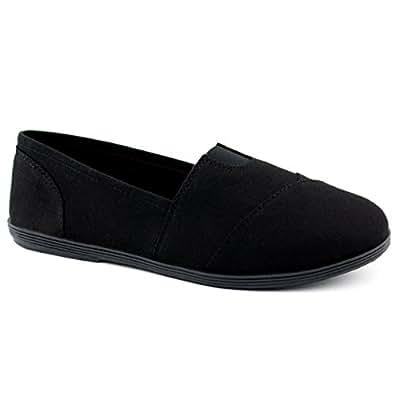 Soda Women Object Flats-Shoes, TPS Obji New Black Size 6