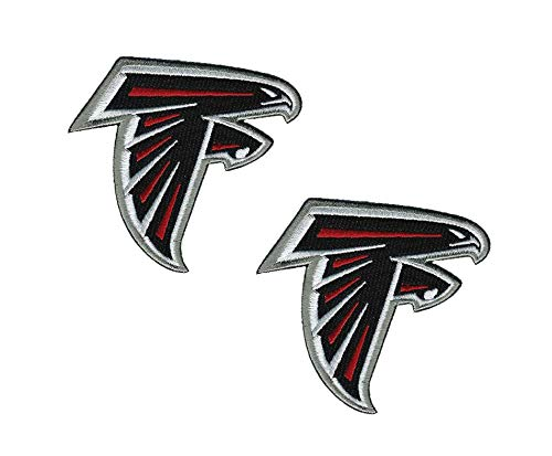 - Atlanta Falcons NFL Team Logo Iron on Football Jersey Hat Patches