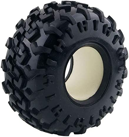 RC T3001 Rubber Tires 4P For HSP HPI 1:10 Monster Bigfoot Truck
